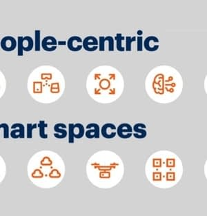 picture people-centric and smart spaces