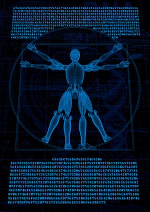 visualize robot vitruvian